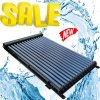 Swimming Pool Heat Pipe Solar Collector Water Heating System