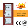 Top Design Single Decorative Glass Storm Doors (SC-AAD035)