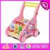 2016 New Style Baby Walker Toy, Multi-Function Wooden Walker Toy, Wholesale Baby Walker Toy W16e023A