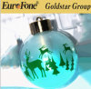 Ball Decoration Electroplating Gold or Silver with Spot Painting
