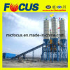 Hzs120 Stationary Concrete Mixing Plant (with 2m3 SICOMA Mixer)