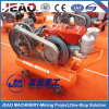 High Quality W3118 V-Belt & Clutch Portable Piston Diesel Air Compressor with DTH Drill Rig for Mining