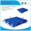 Warehouse Storage HDPE Plastic Pallet Heavy Duty 4 Way Grid Cross Shelf Racking Plastic Pallet (ZG-1111A 7 steels)