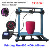 S4 3D Printer DIY Kit Large Printing Size 400X400X400mm With 1kg PLA 1.75mm Filament Monitor Dual Z Axis T Screw Rods