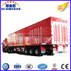 3 Fuwa Alxe Economic Enclosed Van/Box Type Coal Carrying Cargo Trailer for Hot Selling