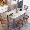 Ce Certification Artificial Stone Modern Corians Dining Table