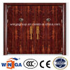 Double Size High Quality Exterior Security Steel Metal Door (W-SD-01)