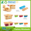Custom Different Size Rectangular Bamboo Fiber Bread Box