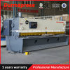 China QC11y 6X3050 Guillotine Hydraulic Cutting Machine