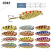 High Quality Colorful Metal Fishing Spoon Lure
