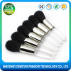 Promotional Plenty of 1PCS Transparent Acrylic Handle Makeup Brush