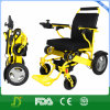 Ultra Light Handicapped Aluminum Electric Wheelchair with Lithium Battery