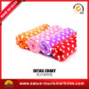Printed Roll up Micro Plush Fleece Blanket