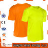 100% Cotton Wholesale Pure Color High Visibility Tshirt for Safety