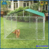 Roof Chain Link Dog Kennel/Heavy-Duty Dog Kennel/Large Outdoor Dog Kennel