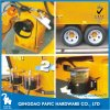 Single Auger Upright Feed Mixer Wagon with Serrated Cutting Knives