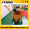 EPA Approved Gasoline Engine Single Drum Walk Behind Vibrating Roller with Top Quality