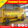Ghana Mobile Wheels Gold Trommel Screen for Sale
