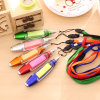 Multifunctional Lanyard Sticky Note Paper LED Light Pen for Promotion
