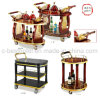 Luxury Hotel Restaurant Wine Service Cart