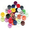 Colorful Shirt Resin Plastic Button with Ce Standard Apparel Accessories