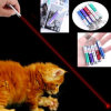 Laser Pointer Flashlight Red Blue Laser Funny Cat Stick