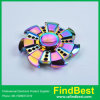 Fs078 Hot Wind Wheels Zinc Alloy Round Fidget Spinner Hand Spinner for Competition