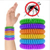 100% Natural Silicone Mosquito Repellent Bracelet in Multi Color Repeller up to 250hrs