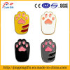 Enamel Cartoon Cute Dog Cat Paw Badge for Clothes