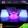 Modern Outdoor Lit Glowing Party Event LED Bar Furniture Square Table
