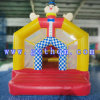 Clown Themed Inflatable Jumping Castle/Waterproof Small Inflatable Bouncy Jumping Castles for Kids