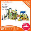 Amusement Park Popular Wooden Slide Kids Outdoor Playground