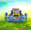 Obstacle Game Climbing Inflatable Playground with Slide