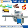 Candy / Haw Flakes Automatic Wrapping Machine Chocolate Bar Packaging Machine