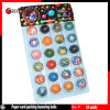 Paper Card Packing Mixed Bouncing Balls 24PCS/Card