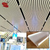 China Supplier Powder Coating Suspended Aluminum Linear Metal Strip Ceiling