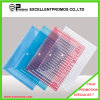 A4 Transparent Color Buckle File Pocket with Button (EP-F9143)