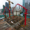 China Supplier Hgy24 Self-Climbing Type Concrete Placing Boom for Sale