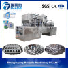 Automatic Water Plastic Cup Filling Sealing Machine / Rotary Cup Filling Machine