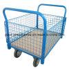 Mesh Box Cart Modular Platform Truck with Castor Wheels