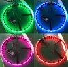 Smartphone APP Controlled LED Wheel Ring Lights Jeep Car Lighting Multi-Color RGB Bluetooth 4PCS Kit