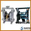 PP/Aluminium/Stainless Steel Pneumatic (Air Operated, QBY, Graco) Double Diaphragm Pump, Membrane Pump, Slurry Pump, Chemical Pump