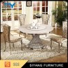 Dining Furniture Stainless Steel Dining Table Metal Round Hotel Table