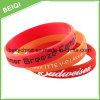 Promotional Cheap Custom Silicone Charm Bracelet