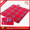 Wholesale Printed Christmas Plush Red Picnic Blankets