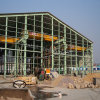 Structural Steel Prefabricated Factory Building with SGS Certificate