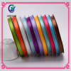 China Supply Stock Single Sided 100% Polyester Satin Ribbon