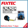 Fixtec Hand Tool Hardware ABS 7.5m Steel Metric and Inch Measuring Tape