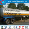 Good Quality ASME 2 Axle LPG Truck Trailer with Q370r Rode Truck