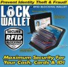 RFID Blocking Wallets Lock Wallet (TV0443)